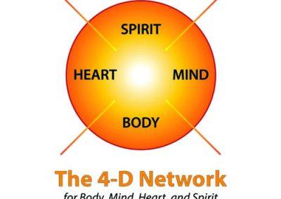4-D Square Logo